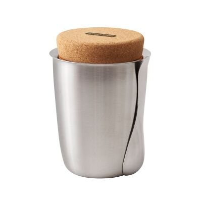 Black + Blum Stainless Steel Thermo Pot with Cork Lid, 550ml