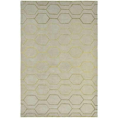 Wedgwood Arris Hand Tufted Designer Wool Rug, 280x200cm, Grey