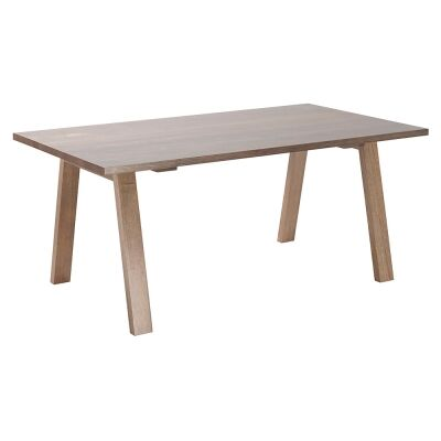 Everett Victoria Ash Timber Dining Table, 180cm