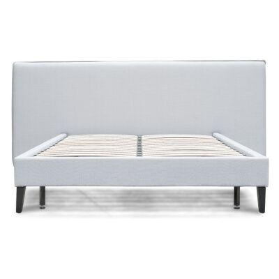 Silverdale Fabric Platform Bed, Queen, Grey