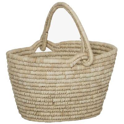 Bolla Handwoven Kans Grass & Date Leaf Shopping Basket