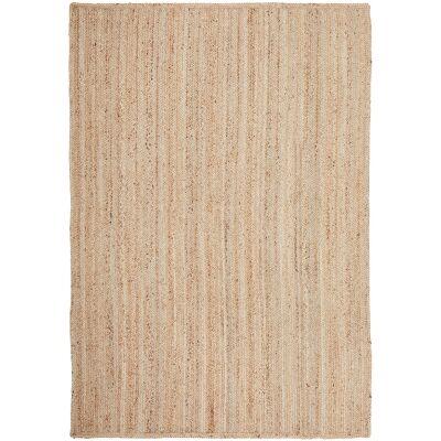 Bondi Hand Braided Jute Rug, 320x230cm, Natural