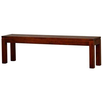 RPN Solid Mahogany Timber 158cm Dining Bench - Mahogany