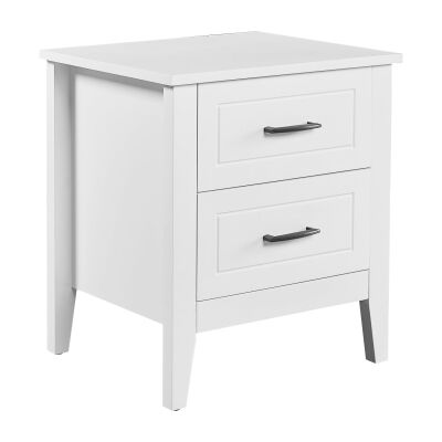 Candice Poplar Timber Bedside Table