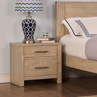 Carrollton Poplar Timber Bedside Table