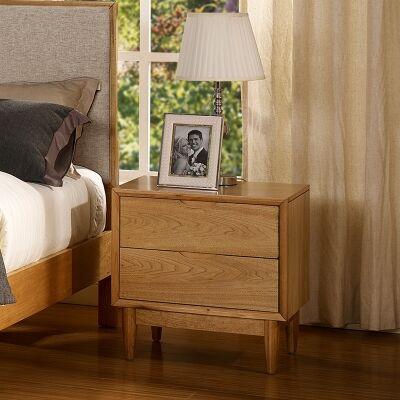Betty II Poplar Timber Bedside Table