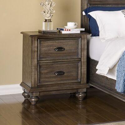 Roxbury American Poplar Timber Bedside Table