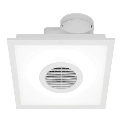 Skyline T5 Square Exhaust Fan, White