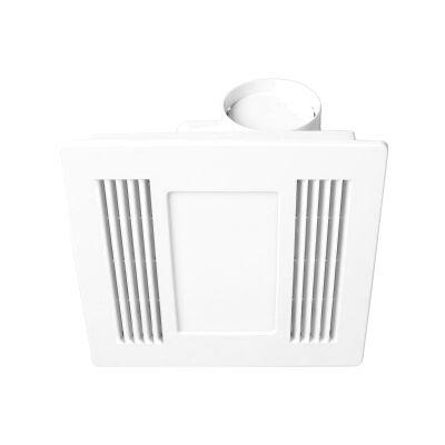 Aceline Bathroom Exhaust with LED Light, White