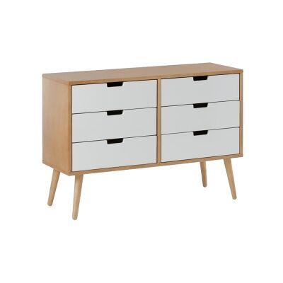 Belle 6 Drawer Dresser