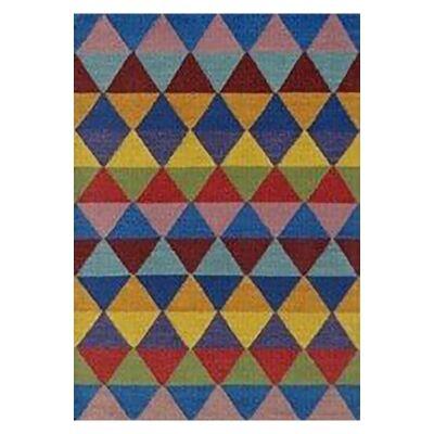 Beni Handwoven Wool Rug, 230x160cm, Dark Multi