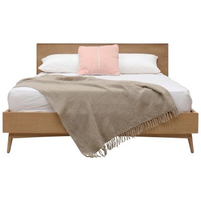 Molton Hand Crafted Mango Wood Bed, Queen