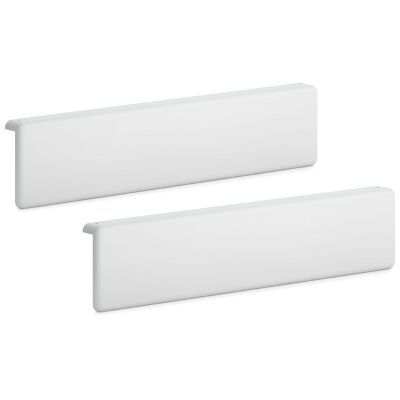 Boori Scout Wooden Bed Headboard Panel, Set of 2, Single, Barley White