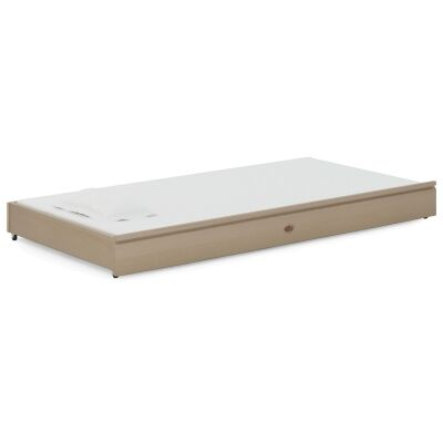 Boori Tidy Wooden Trundle Bed, King Single, Truffle