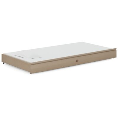 Boori Tidy Wooden Trundle Bed, Single, Truffle