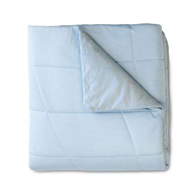 Ardor Cooling Weighted Blanket, 9kg, 122x183cm, Blue