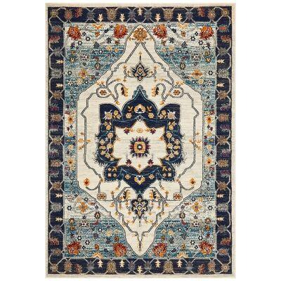 Babylon Auberon Bohemian Rug, 160x230cm, Blue