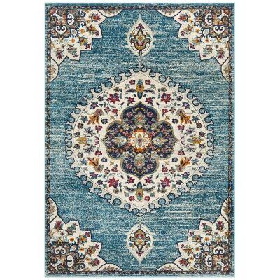 Babylon Chantilly Bohemian Rug, 160x230cm, Blue
