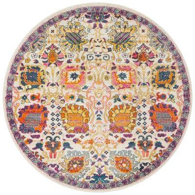Babylon Minx Bohemian Round Rug, 200cm