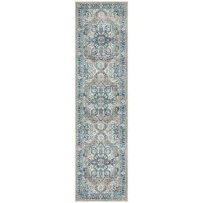 Babylon Oriana Bohemian Runner Rug, 80x300cm, Blue