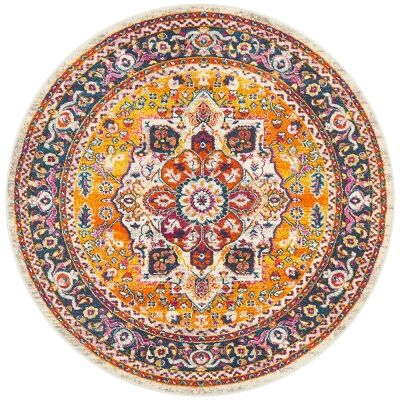 Babylon Oriana Bohemian Round Rug, 150cm, Multi