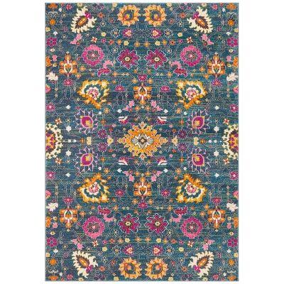 Babylon Viridis Bohemian Rug, 200x290cm, Blue