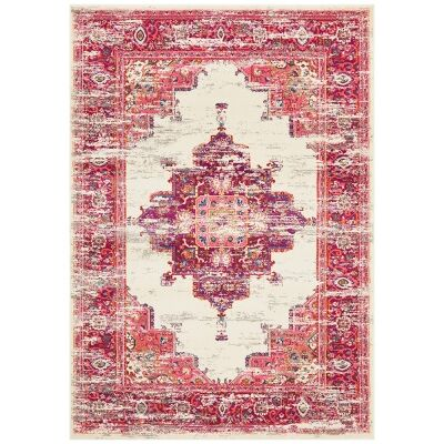 Babylon Zenovia Bohemian Rug, 160x230cm, Pink