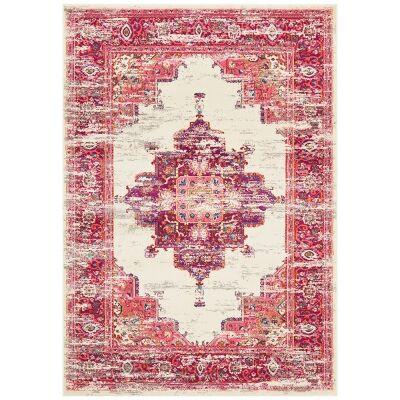 Babylon Zenovia Bohemian Rug, 200x290cm, Pink