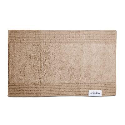 Algodon Mila Cotton Bath Mat, 50x80cm, Stone