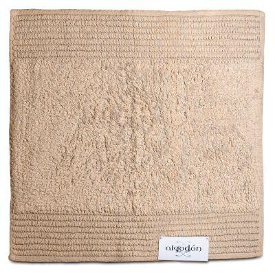 Algodon Mila Cotton Bath Mat, 50x50cm, Stone