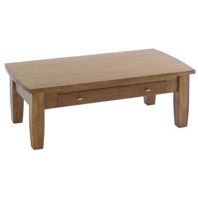 Greendale Tasmanian Oak Timber Coffee Table, 136cm