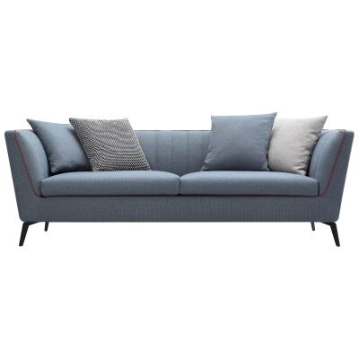 Elodie Commercial Grade Fabric Sofa, 3 Seater