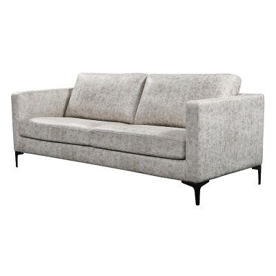 Rylan Commercial Grade Fabric Sofa, 3 Seater, Grey