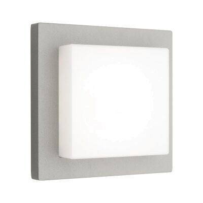 Bodo Aluminium IP54 Exterior LED Wall Light - Silver