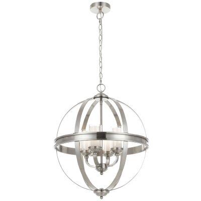 Bodum Metal Sphere Pendant Light, Nickel
