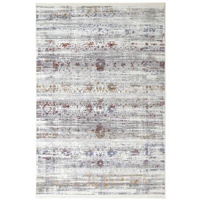 Bohemian Paradise No.02 Transitional Rug, 330x240cm, Grey Multi