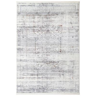 Bohemian Paradise No.04 Transitional Rug, 230x160cm, Grey Multi