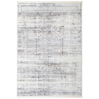 Bohemian Paradise No.04 Transitional Rug, 400x300cm, Grey Multi