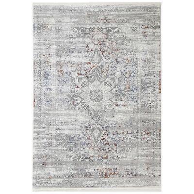Bohemian Paradise No.06 Transitional Rug, 330x240cm, Grey Multi