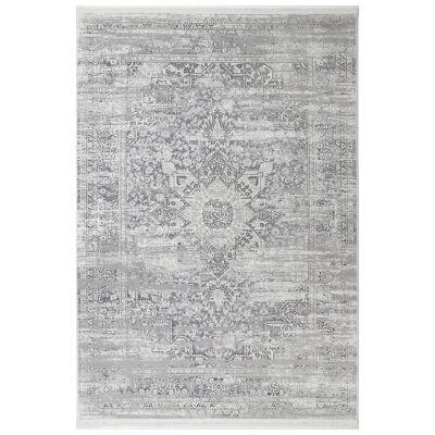 Bohemian Paradise No.06 Transitional Rug, 290x200cm, Grey