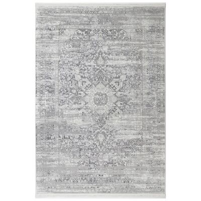 Bohemian Paradise No.06 Transitional Rug, 330x240cm, Grey