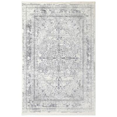 Bohemian Paradise No.08 Transitional Rug, 330x240cm, Grey