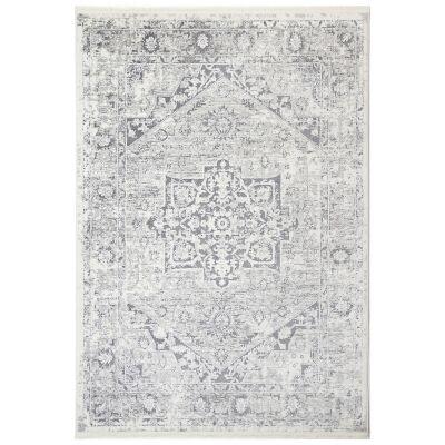 Bohemian Paradise No.09 Transitional Rug, 330x240cm, Grey