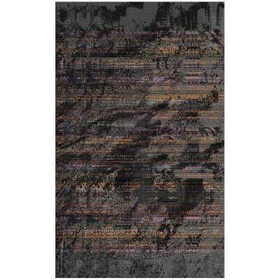 Botticelli Graphite Modern Rug, 235x165cm