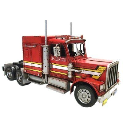Boutica Handmade Tin Vehicle Model - King Hauler Truck