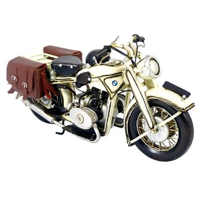 Boutica Handmade Tin Motorcycle Model - BMW 1932 Series II