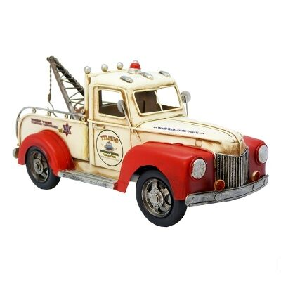 Boutica Handmade Tin Vehicle Model - Quality Towing Service
