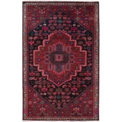 One of A Kind Gethin Hand Knotted Wool Persian Rug, 167x101cm