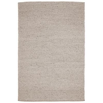 Braids Wool Rug, 225x155cm, Cookie