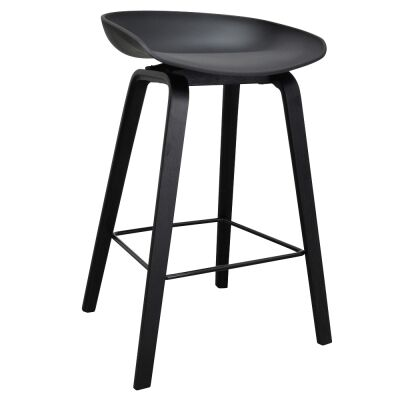 Renica Counter Stool, Black